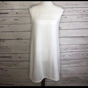 VS White Lace Swim Cover